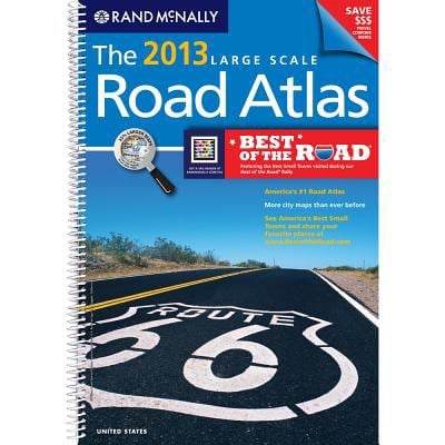 USA, Large Scale Road Atlas, 2013 (Rand Mcnally Large Scale Road Atlas USA) 9780528006289
