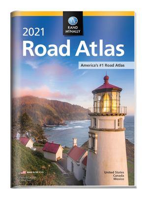 Rand McNally 2021 Road Atlas with Protective Vinyl Cover (Rand McNally Road Atlas)
