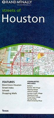 Rand McNally Streets of Houston: Texas 9780528879890