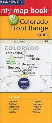 Rand McNally City Map Book: Colorado Front Range Cities 9780528882296