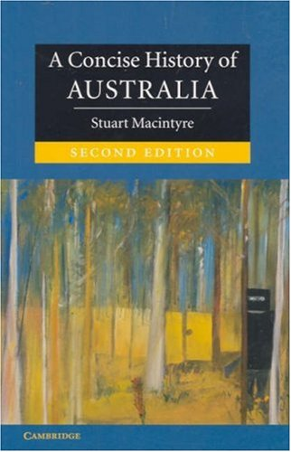 A Concise History of Australia 9780521601016