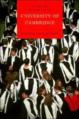A Concise History of the University of Cambridge 9780521439787