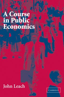 A Course in Public Economics 9780521535670