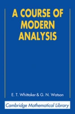 A Course of Modern Analysis - 4th Edition