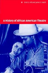 A History of African American Theatre 1766773