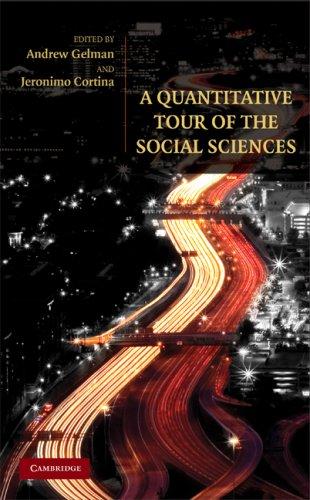 A Quantitative Tour of the Social Sciences 9780521680035