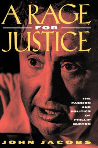 A Rage for Justice 9780520204119