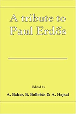 A Tribute to Paul Erdos 9780521381017