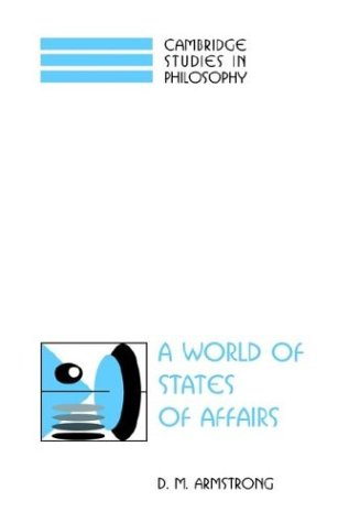 A World of States of Affairs 9780521580649