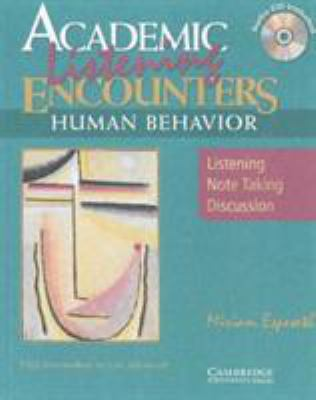 Academic Encounters: Human Behavior 2 Book Set (Student's Reading Book and Student's Listening Book with Audio CD) 9780521891653