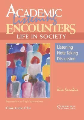 Academic Listening Encounters: Life in Society Class Audio CDs (3): Listening, Note Taking, and Discussion