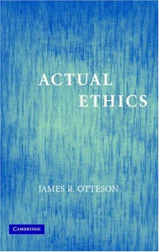 Actual Ethics 9780521681254