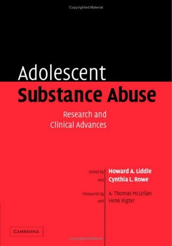 Adolescent Substance Abuse: Research and Clinical Advances 9780521823586