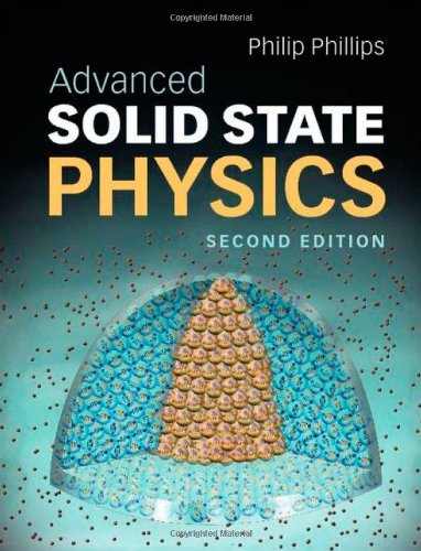 Advanced Solid State Physics 9780521194907