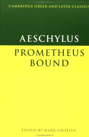 Aeschylus: Prometheus Bound 9780521270113