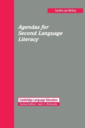 Agendas for Second Language Literacy 9780521446648