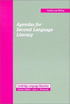 Agendas for Second Language Literacy 9780521441186