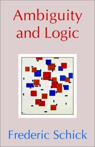 Ambiguity and Logic 9780521531719