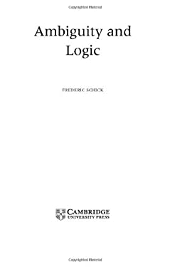 Ambiguity and Logic 9780521824583