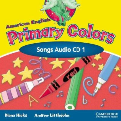 American English Primary Colors 1 Songs CD 9780521539180