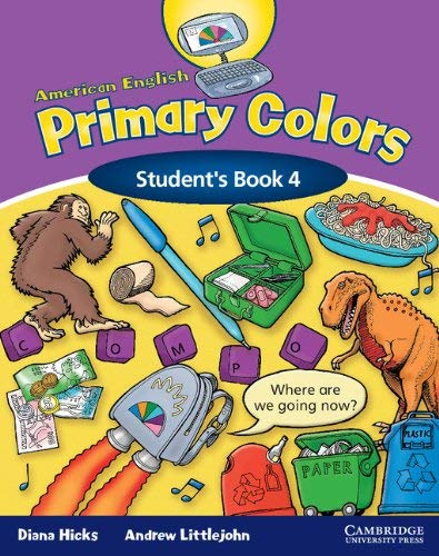 American English Primary Colors 4 Student's Book 9780521607988