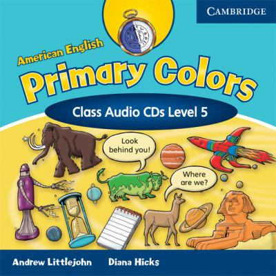 American English Primary Colors 5 Class Audio CDs 9780521682640