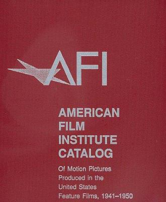 American Film Institute Catalog Motion 9780520215214