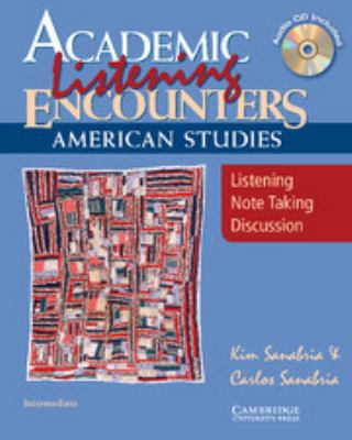 American Studies: Listening, Note Taking, Discussion [With CD (Audio)] 9780521684323