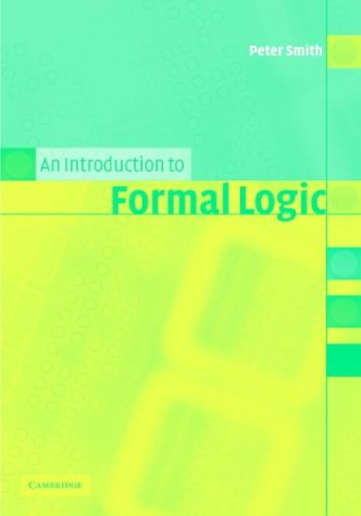 An Introduction to Formal Logic 9780521008044