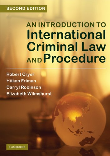 An Introduction to International Criminal Law and Procedure - 2nd Edition