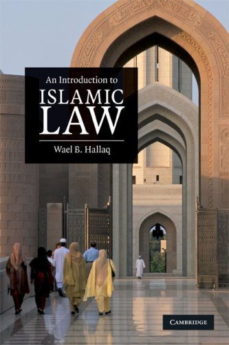 An Introduction to Islamic Law 9780521678735