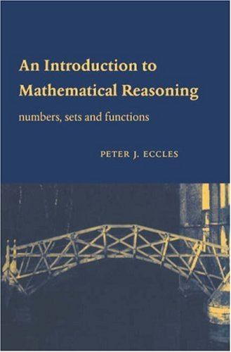 An Introduction to Mathematical Reasoning 9780521592697