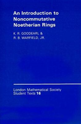 An Introduction to Noncommutative Noetherian Rings 9780521360869