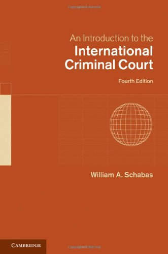 An Introduction to the International Criminal Court 9780521151955