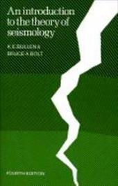 An Introduction to the Theory of Seismology 1733630