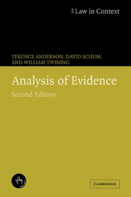 Analysis of Evidence 9780521673167