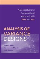 Analysis of Variance Designs: A Conceptual and Computational Approach with SPSS and SAS 1784465