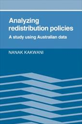Analyzing Redistribution Policies: A Study Using Australian Data