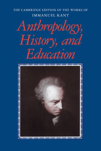 Anthropology, History, and Education 9780521181211