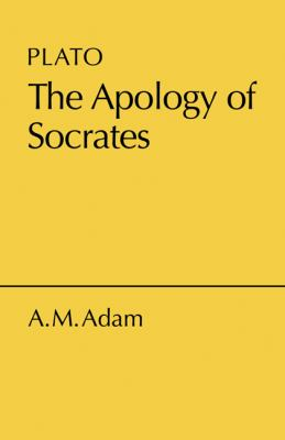 Apology of Socrates 9780521059589