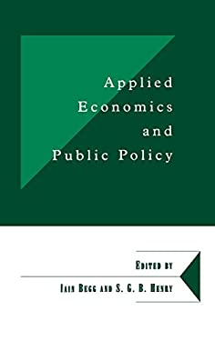 Applied Economics and Public Policy 9780521624145