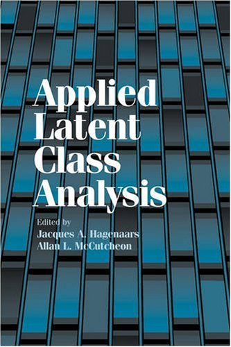 Applied Latent Class Analysis 9780521104050