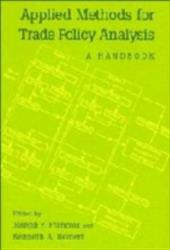 Applied Methods for Trade Policy Analysis: A Handbook