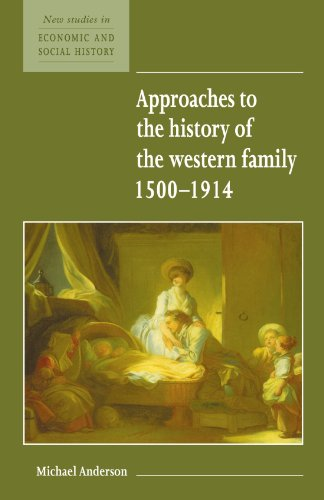 Approaches to the History of the Western Family 1500 1914 9780521557931