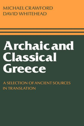 Archaic and Classical Greece 9780521296380