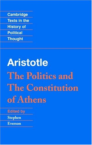 Aristotle: The Politics and the Constitution of Athens 9780521482431
