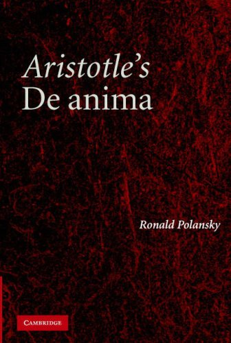 Aristotle's De Anima: A Critical Commentary 9780521862745