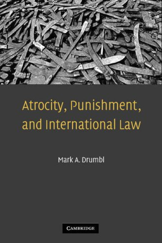 Atrocity, Punishment, and International Law 9780521691383
