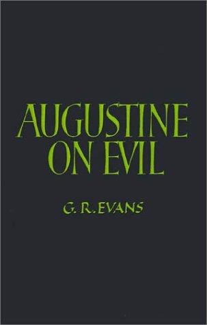 Augustine on Evil 9780521397438