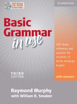 Basic Grammar in Use: Self-Study Reference and Practice for Students of North American English with Answers [With CDROM] 9780521133340